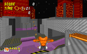 Techno Hill Zone Act 2 - Screenshot 2