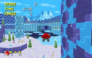 Frozen Hillside Zone